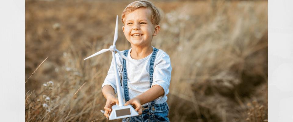 éolienne des enfants