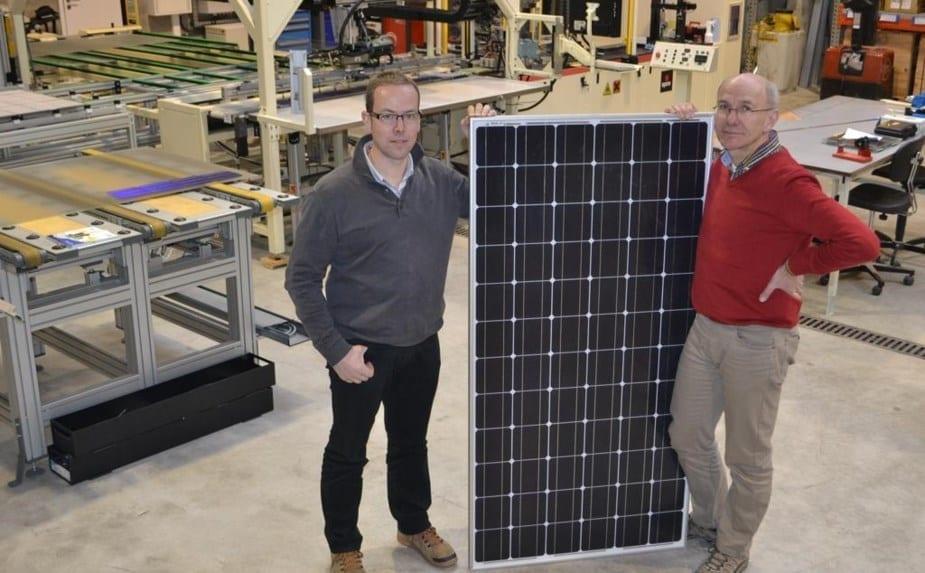 panneaux photovoltaïques made in Wallonie par Finale 24