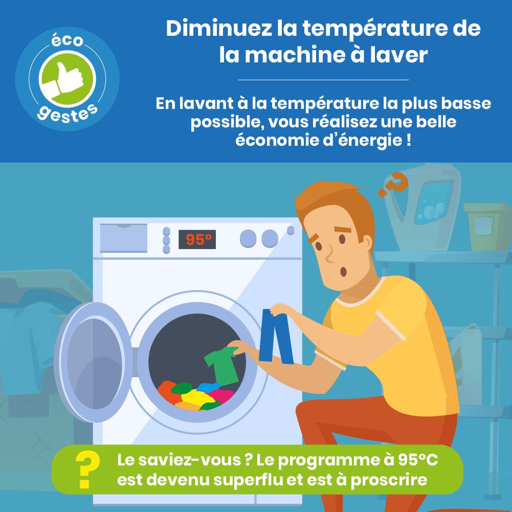 laver à basse température