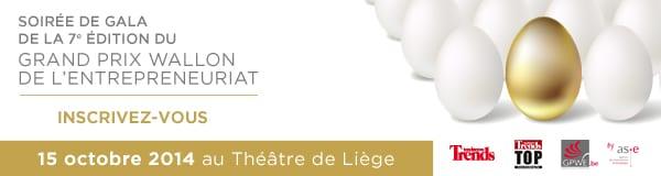 Grand Prix Wallon de l'Entrepreneuriat 2014