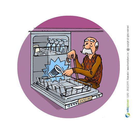 Conseil en nergie n 32 nettoyez r guli rement le filtre de votre lave vaisselle wikipower - Duree de vie lave vaisselle ...
