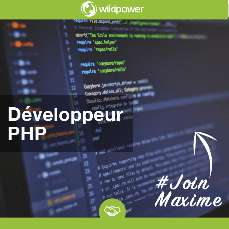 Developpeur web PHP