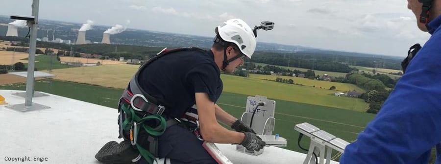 Installation éolienne ultrasons
