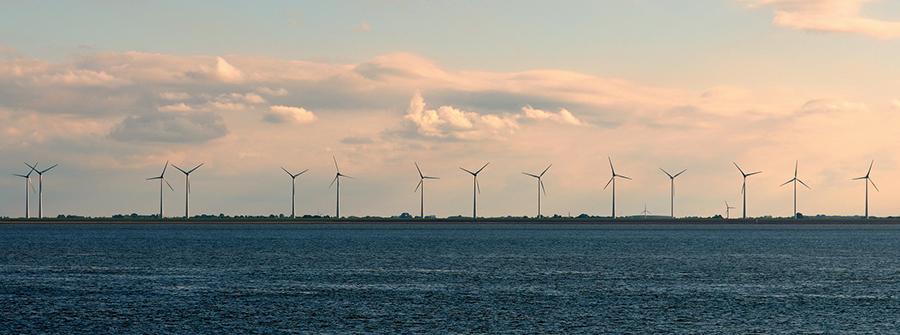 Éoliennes offshore pour usine à hydrogène