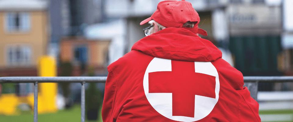 secouriste de la croix-rouge